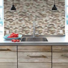 decorative kitchen wall tiles.  Kitchen 6Pack DIY PeelnStick Self Adhesive Mosaic Kitchen Wall Tile Brown For Decorative Tiles B