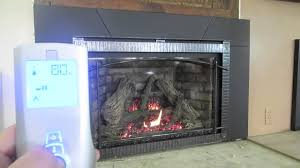 how to use my remote control for my gas fireplace tutorial diy insert direct vent