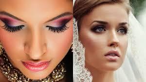 diffe types a2zweddingcards types bridal makeup indian weddings