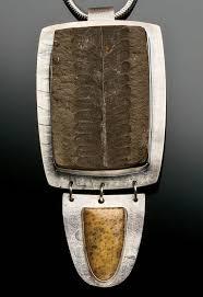 diy fossil pendant