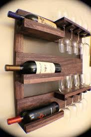 wall mounted wine racks boldhome wood rack mount sosfund in designs 9