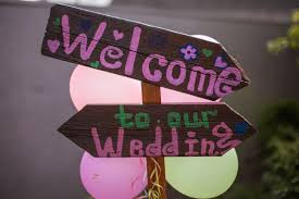 Welcome Signs With Pink Letters Photo Free Download
