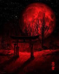 Red Moon, Rachid Lotf on ArtStation at  https://www.artstation.com/artwork/qqYOe   Moon artwork, Dark red  wallpaper, Red moon