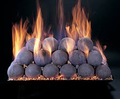 a set of fire that are all 4 diameter can be stacked in a pyramid as can be larger and smaller fire all in one color or in a variety of colors