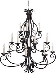 Maxim 12219oi manor 15light chandelier oil rubbed bronze finish