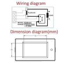 ammeter gauge wiring diagram lovely auto gauge tach wiring diagram autometer gauge wiring diagram ammeter gauge wiring diagram awesome aliexpress buy dc 6 5 100v voltmeter ammeter 100a 1000w lcd