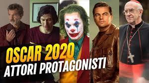 Oscar 2020 - Pronostici Miglior Attore Protagonista