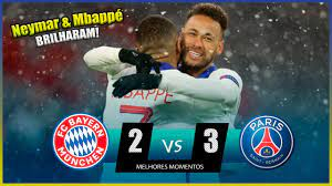 Bayern de Munique 2 x 3 Psg | Melhores Momentos HD | Champions League |  Show de Mbappe & Neymar - YouTube