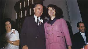 lbjs office president. lady bird left and lbj share a laugh with jacqueline kennedy at breakfast on lbjs office president t