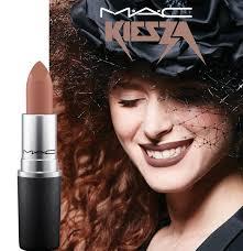 mac x kiesza spring 2017 makeup collection