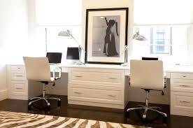 custom home office desks. Built In Office Desk Innovative Custom Home Finished White Lacquer With Bookshelves Desks U