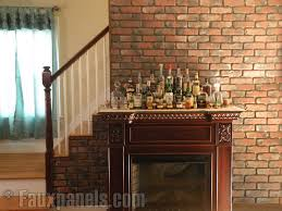 beautiful old chicago brick accent walls creative faux panels throughout interior wall design 6