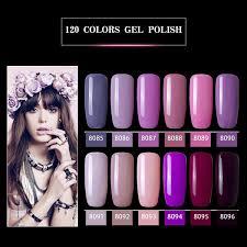 Anc Nails Color Chart Modelones Fashion Purple Color Series Uv Gel Nail Polish Set Led Lamp Nail Gel Lacquer Kits Soak Off Uv Enamel Nails Nail Designs From Guaye 26 49