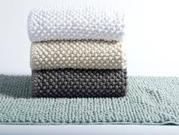 pebbled chenille bath rug san remo collection
