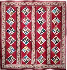19 best Dutchman' Puzzle QUILTS images on Pinterest | Quilt ... & Dutchman's Puzzle Wall Quilt is a free pattern from Pat Speth, a featured  designer in the March/April issue of Quiltmaker Adamdwight.com