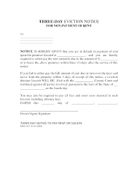3 Days Pay Or Quit Form Day Eviction Notice Template California 30 Poporon Co