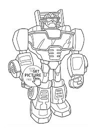 Rescue Bots Optimus Prime Coloring Pagesrescue Bots Coloring 7395