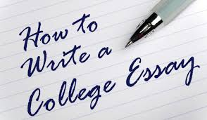 writing essay college tips for writing an effective application essay