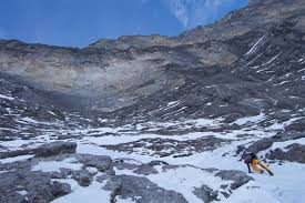 Rock boulder aid ice mixed. Eiger North Face Attempt Jerry S Insulin Challenge 2015