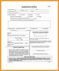 11 12 Letter Of Separation From Employer Loginnelkriver Com