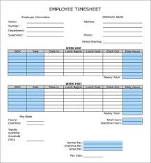 Biweekly Timesheet Template Free Bi Weekly Time Calculator Under Fontanacountryinn Com
