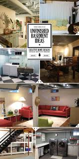 Best  Cheap Basement Ideas Ideas On Pinterest - Unfinished basement man cave ideas