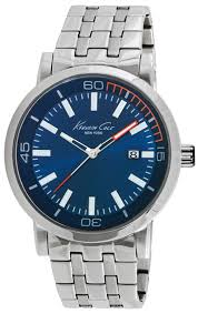 men s kenneth cole new york stainless steel watch 10020837