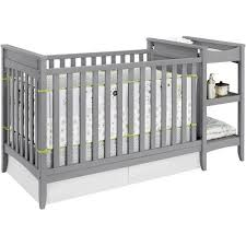baby relax emma 2 in 1 crib and changing table combo gray walmartcom baby nursery furniture relax emma