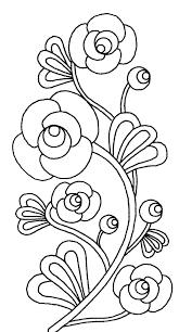 Coloriage De Fleurs Dessin