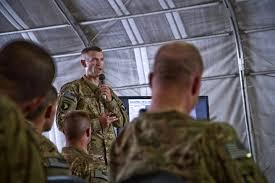 u s department of > photos > photo essays > essay view u s army maj brian d sawser center briefs unit leaders during a