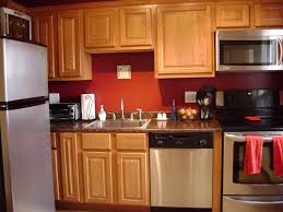 red country kitchen decorating ideas. Kitchen Wall Color Ideas With Oak Cabinets Design Idea Collection Red Walls Country Decorating O