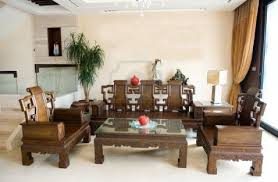 Oriental Living Room Furniture Chinese Living Room Furniture Leather Sofa Round Centrepiece Table