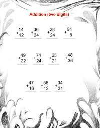 Addition Worksheets 2Nd Grade Pdf Worksheets for all | Download ...