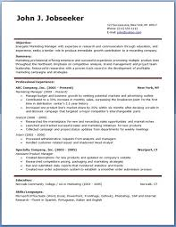 Resume Template Download Free Professional Resume Templates Free In