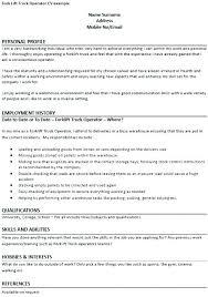 Forklift Operator Summary Expovenice Org