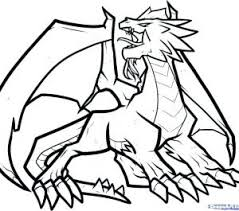 Best Ideas Of Dragon Coloring Pages Easy Best Of Drawing Dragons
