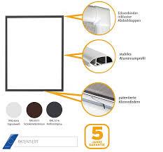 Insektenschutz Fenster Basic 120 X 140 Cm Mit Alurahmen In Weiß
