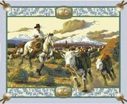 12 best Western/ Horse Fabrics images on Pinterest | Yards, Blush ... & Cattle Drive Wall Hanging, Cowboy Fabric, Cattle Fabric, Cowboy Wall  Hanging, 1. Horse FabricQuilt ... Adamdwight.com