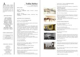 Portfolio For Resume Stunning The Top Architecture R Sum CV Designs ArchDaily Basic Resume