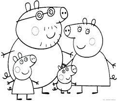 Coloring Pages Peppa Pig Coloring Book Download Exclusive Together