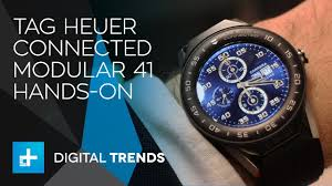 Tag Heuer Connected Modular <b>41 Smartwatch</b> Hands-On - YouTube