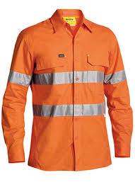 Bisley Size Chart Bs6416t 3m Taped Hi Vis X Airflow Ripstop Shirt Long Sleeve