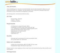 Career Builder Resume Templates