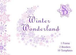 purple snowflake border. Exellent Border Image 0 With Purple Snowflake Border O