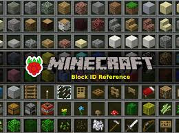 Minecraft Chest Organization Chart Raspberry Pi Minecraft Block Id Number Reference Raspberry