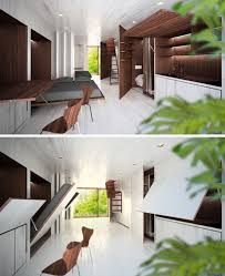 Small Space Design Ideas ecomobi fold out living spaces