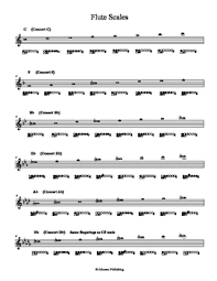 Concert Band Scales Worksheets Teaching Resources Tpt