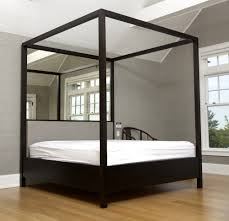 Interesting Four Poster Bed Antiqued Mirror Mid Century Modern Beds Post  Bedroom Sets Modern: ...
