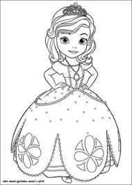 Small Picture Sofia The First Coloring Pages James sofia Pinterest