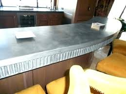zinc sheet countertop sheet metal sheet metal sheet metal inc zinc kitchen s medium size zinc zinc sheet countertop